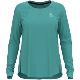 Odlo Zeroweight Chill-Tec T-Shirt L/S Crew Neck Women, Turquesa